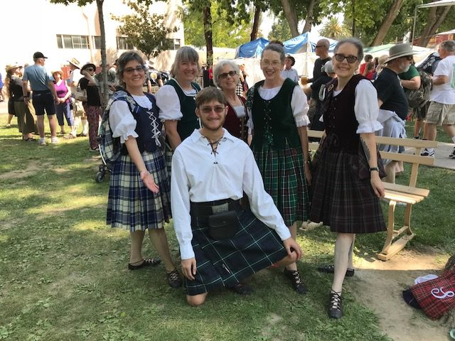 Scottish Highland Games and Gathering in Pleasanton